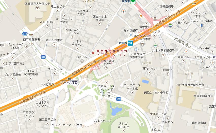 CREARTクレアート地図
